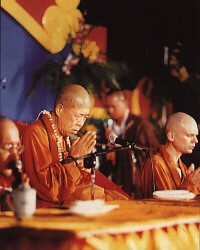 Propagating the Dharma at the University of California at Los Angeles (UCLA), 1990
